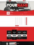 Premade Beatstars Pro Page Block Theme #006 Layout Preview