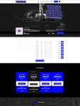 Premade Beatstars Pro Page Block Theme #008 Layout Preview