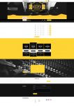 Premade Beatstars Pro Page 2.0 PP2 Layout #009 Fullsize Preview