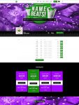 Premade Beatstars Pro Page Block Theme #014 Layout Preview